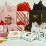 Famous-Name Miniature Shopping Bags