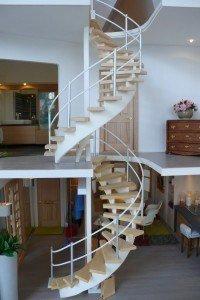 modern-dollhouse- spiral-staircase