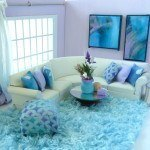 Dollhouse Decorating Ideas – Aqua Accessory Ensemble
