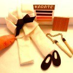 Dollhouse Accessory Ideas – 1:12 Scale Karate Outfit