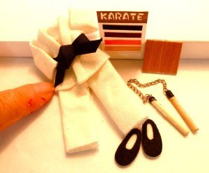 1:12 Scale Karate Outfit