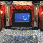 Marc Meads Art Deco Home Theater