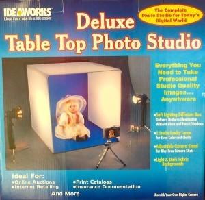Deluxe Tabletop Photo Studio