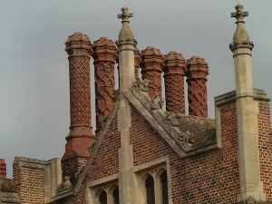 Hampton Court Chimney Pots