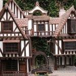 Tudor Dollhouse Exteriors