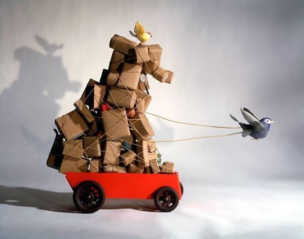 Fantasy Moving Van