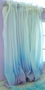 Aqua-Puddle-Dollhouse-Curtains-1/12 scale