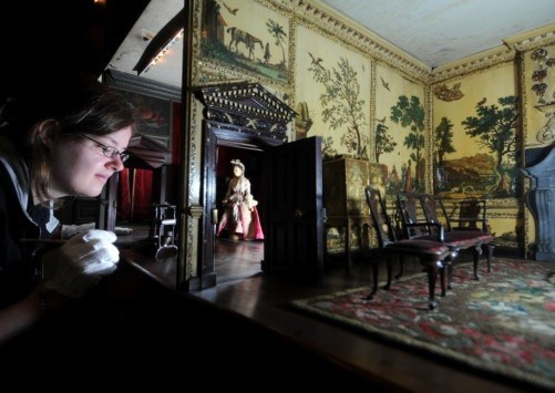 Nostell Priory Dolls House Gets Spring Cleaning