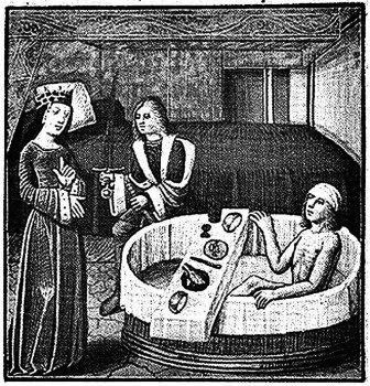 tudor bathing habits