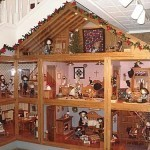 Tudor Dollhouse Under The Stairs