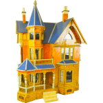 Victorian Style Dollhouses