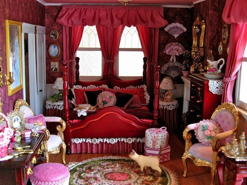 Victorian Accessories And Furniture Dollhouse Decorating