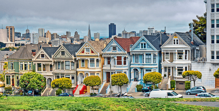 victorian-painted-ladies-San Francisco-Steiner Street
