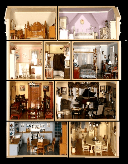 Blog-victorian-painted-ladies-SF#12-interior | Dollhouse Decorating