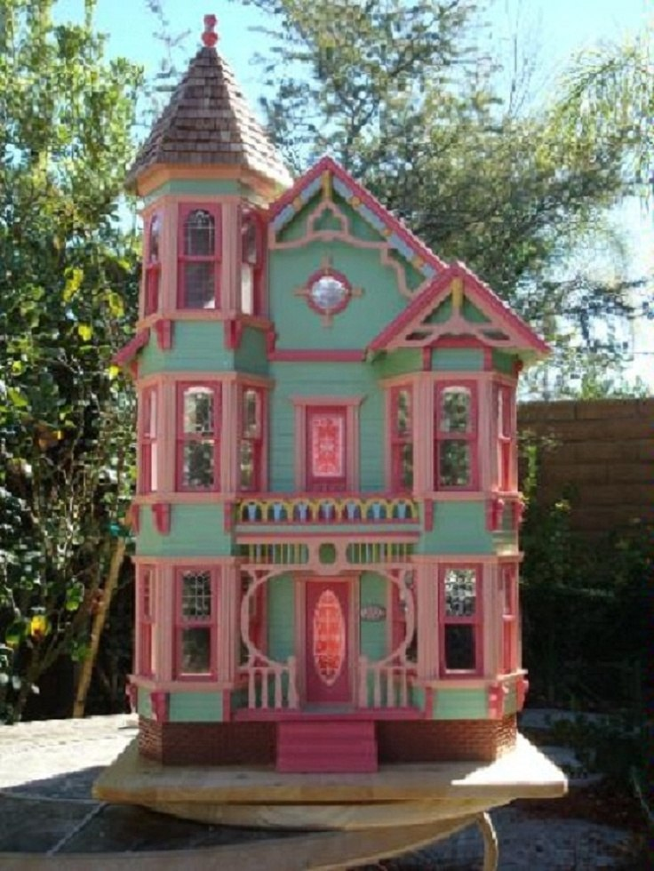 Victorian painted ladies for Victorian style kit homes