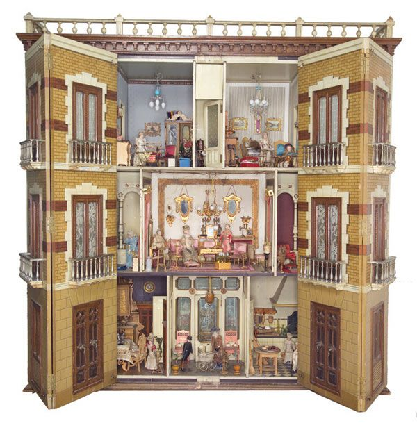 spanish-mansion-dollhouse-french--doors-open