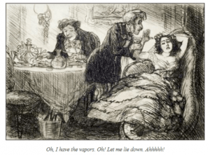 fainting-couch-victorian-lady- vapours