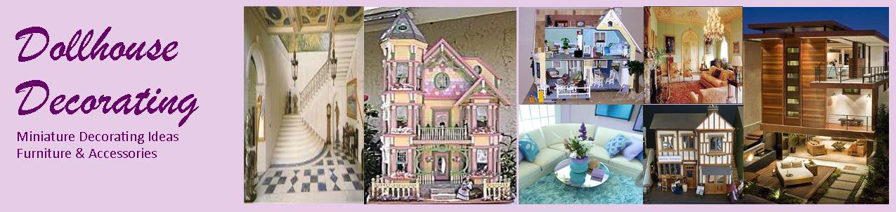 Dollhouse Decorating Miniature Decorating Ideas Articles On