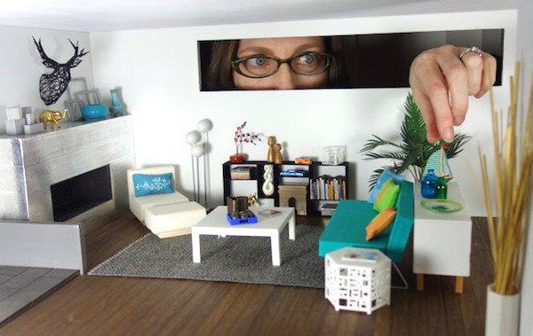 Megan Hornbecker, Miniaturist | Dollhouse Decorating on