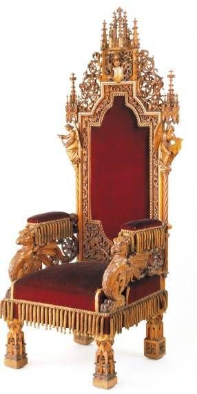 gothic-revival-chair-dollhouse