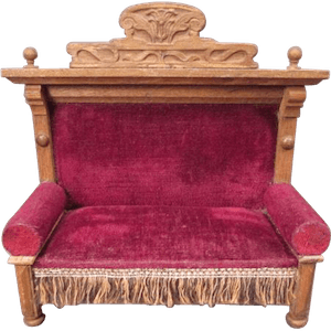 victorian-furniture-late-art-nouvea-settee