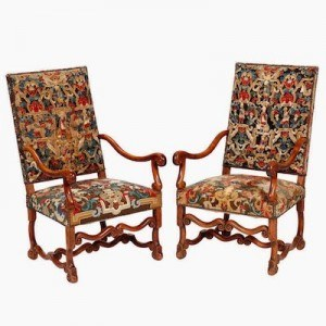 baroque-furniture-louis XIV-french-chairs