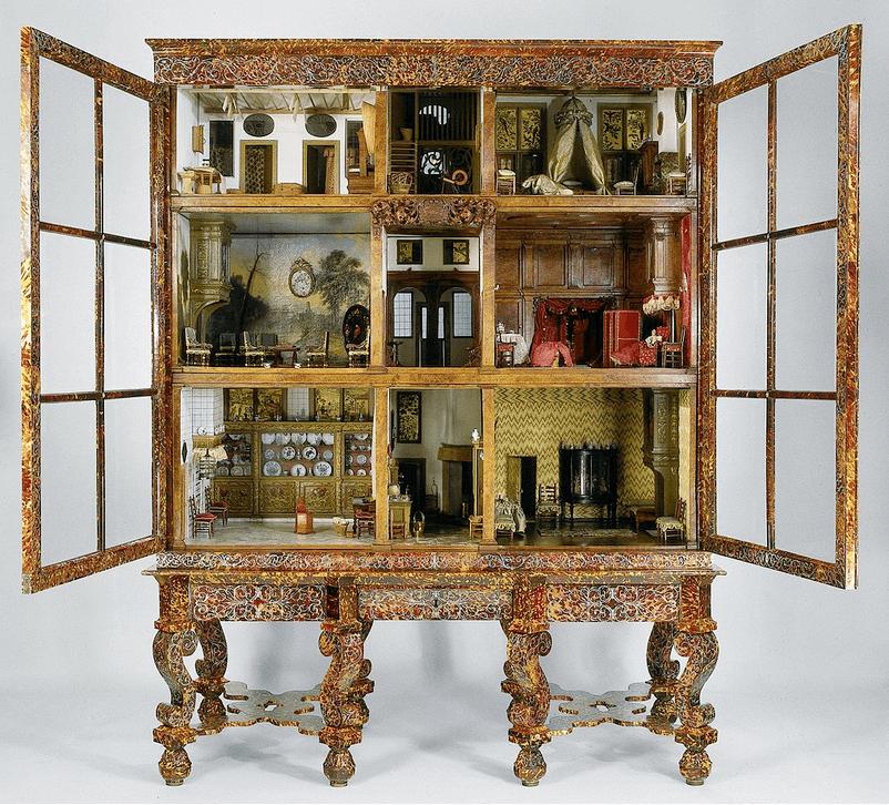 Cabinet Dollhouses Dollhouse Decorating