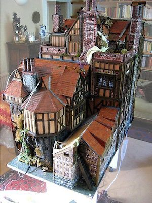 Elizabethan Era Dollhouse Decorating