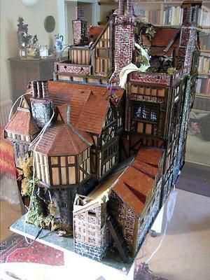 Elizabethan Era Dollhouse Decorating