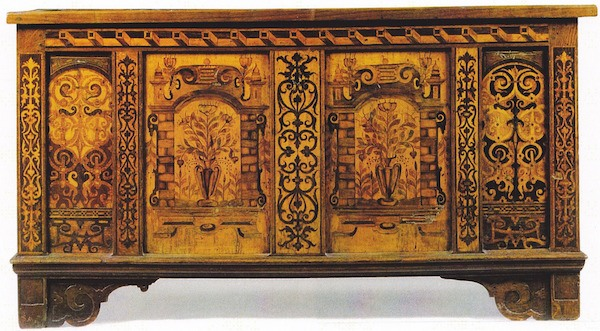 French Baroque Furniture Dollhouse Decorating